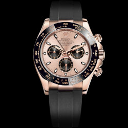 Rolex Cosmograph Daytona Pink Gold Champagne Dial Ceramic Bezel (Арт. RW-9132)