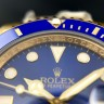 Rolex Submariner Date Yellow Gold Blue Dial (Арт. RW-9143)