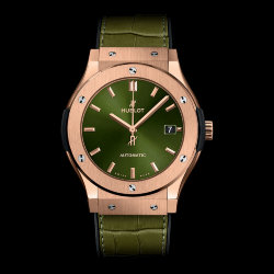 Hublot Classic Fusion Green King Gold 38mm (Арт. RW-8882)