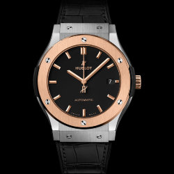 Hublot Classic Fusion Titanium King Gold 42mm (Арт. RW-8804)
