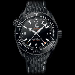Omega Seamaster Planet Ocean Deep Black GMT 45.5 mm (Арт. RW-8900)