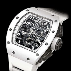 Richard Mille RM 011 Flyback Chronograph White Ghost (Арт. RW-8906)