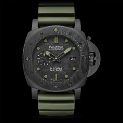 Officine Panerai Submersible Marina Militare Carbotech 47 mm PAM00961 (Арт. RW-9013)