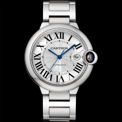 Cartier Ballon Bleu de Cartier Steel 42 mm (Арт. RW-8721)