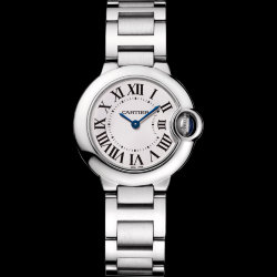 Cartier Ballon Bleu de Cartier Steel 28 mm (Арт. RW-8724)
