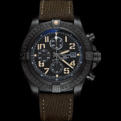 Breitling Super Avenger II Black Steel Limited Edition (Арт. RW-8725)