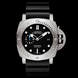 Officine Panerai Luminor Submersible 1950 3 Days Automatic Acciaio 42 mm PAM00682 (Арт. RW-10028)