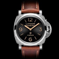 Officine Panerai Luminor 1950 Firenze 3 Days Acciaio PAM00972 (Арт. RW-10031)